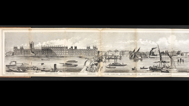Grand Panorama of London from the Thames [page: [part 1]]