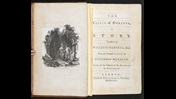 Gothic novel The Castle of Otranto, by Horace Walpole [page: frontispiece and title page]