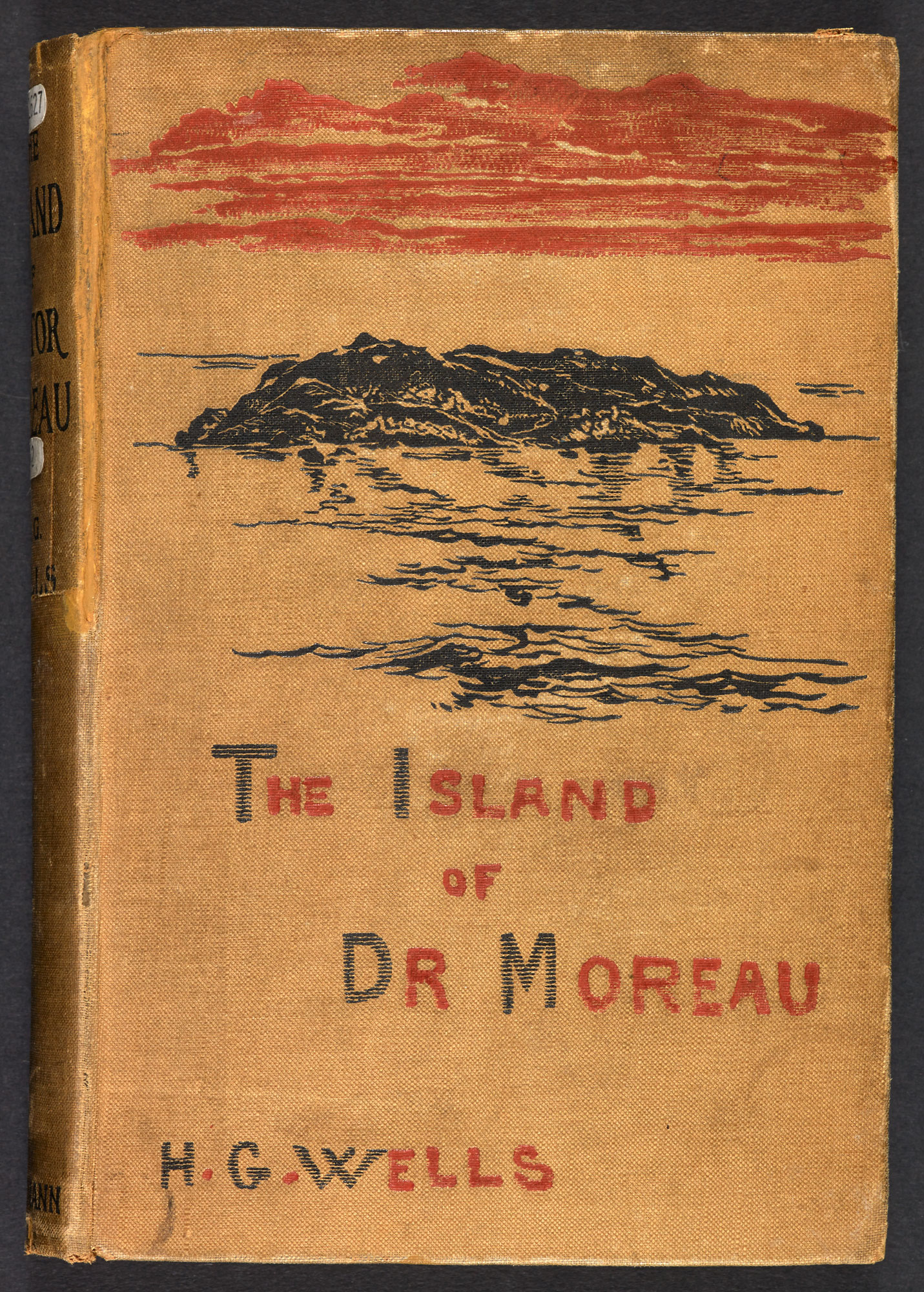 The Island of Dr Moreau by H G Wells [page: front cover]