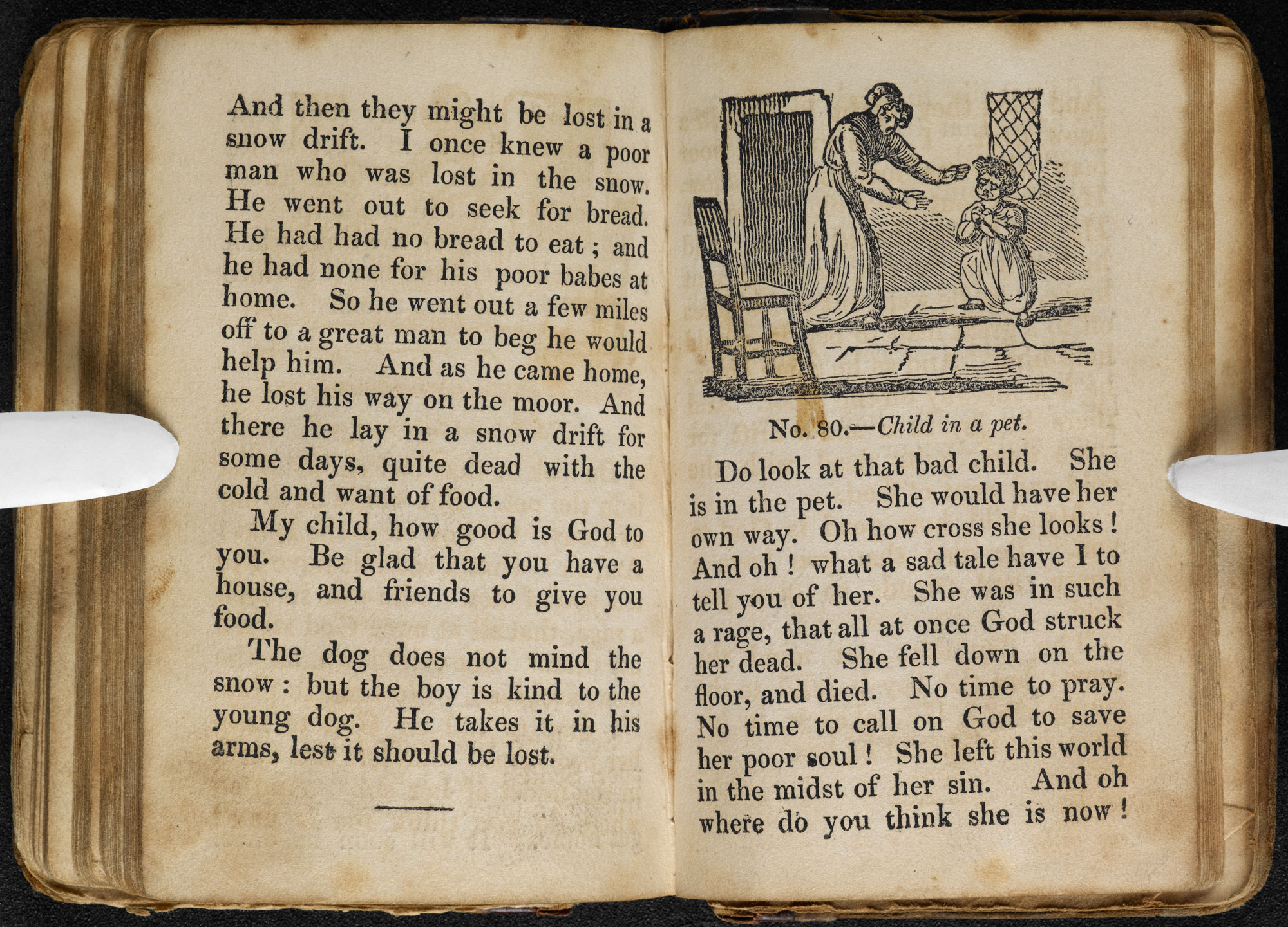 Child's First Tales, written by the Brontë sisters' headmaster [page: [No. 79 cont.]-[No. 80]]