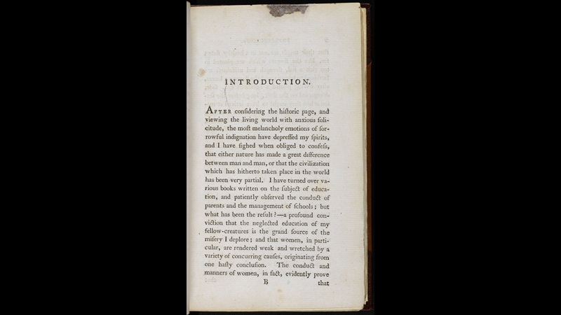 Mary Wollstonecraft, A Vindication of the Rights of Woman [page:p.[1]]