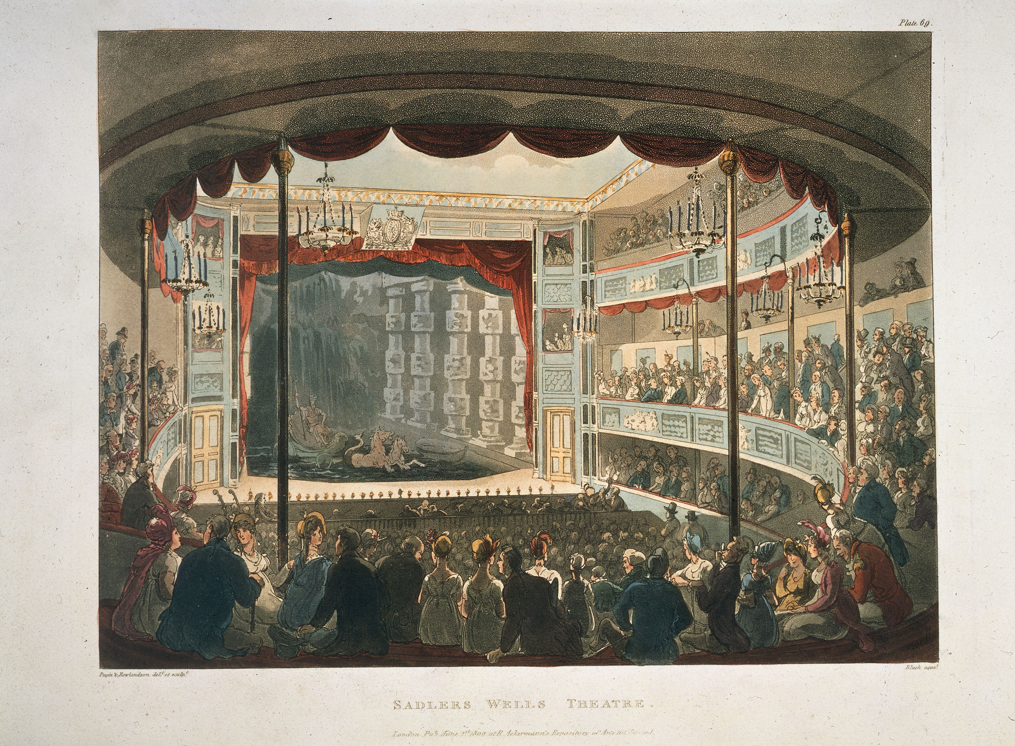 Illustration of Sadler's Wells Theatre