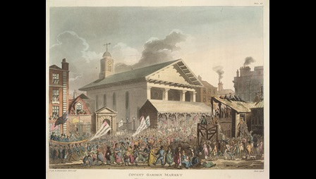 Illustration of Covent Garden Market