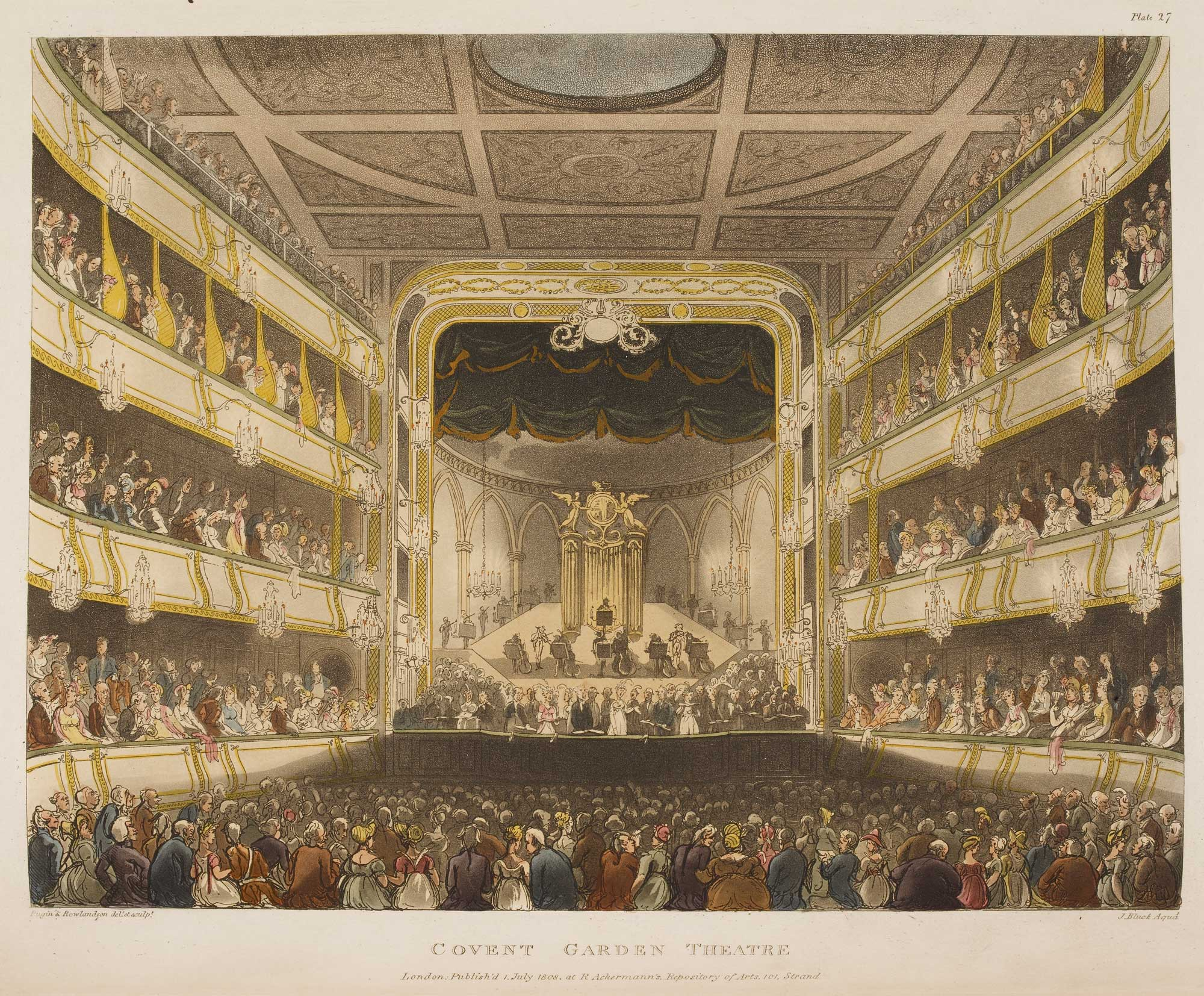 Illustration of Covent Garden Theatre