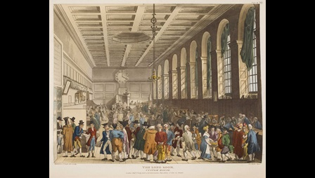 Illustration of Long Room, Custom House