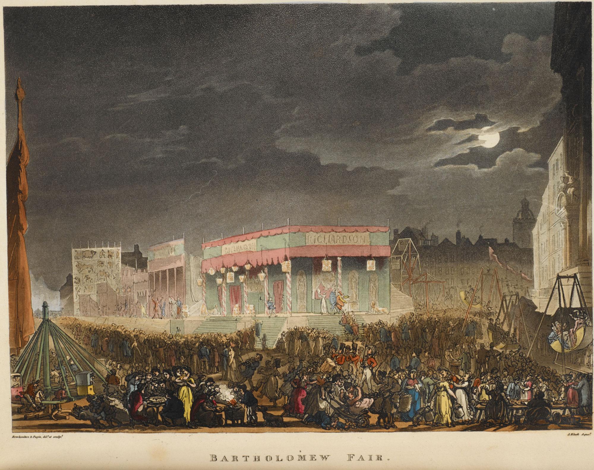 Illustration of Bartholomew Fair