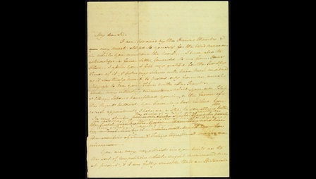 Handwritten letter from Jane Austen to James Stanier Clarke, 1 April 1816