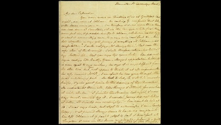 Letter from Jane Austen to her sister Cassandra, 5-8 March 1814