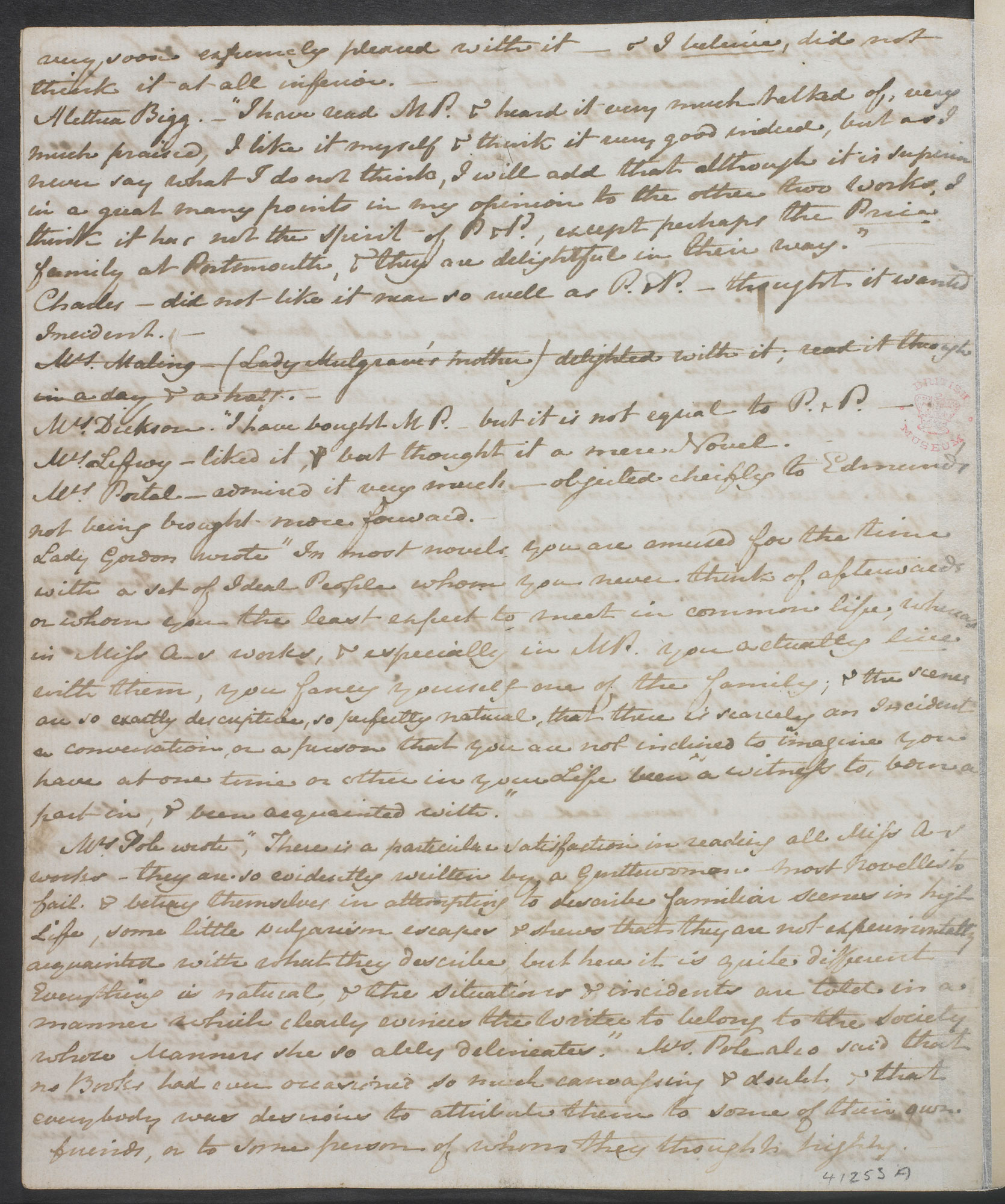 Jane Austen: social realism and the novel - The British Library