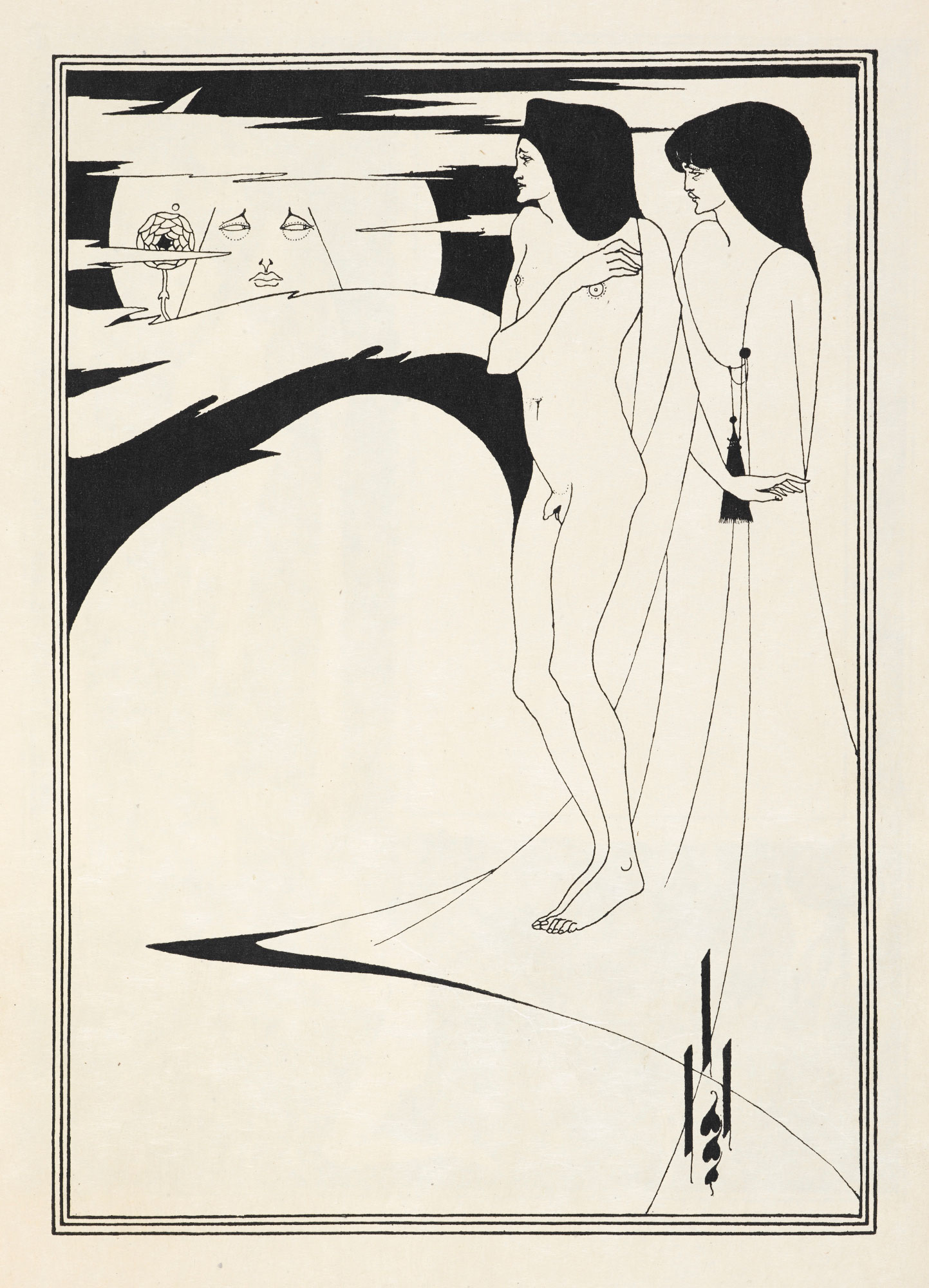 Aubrey Beardsley illustrations for Salomé by Oscar Wilde