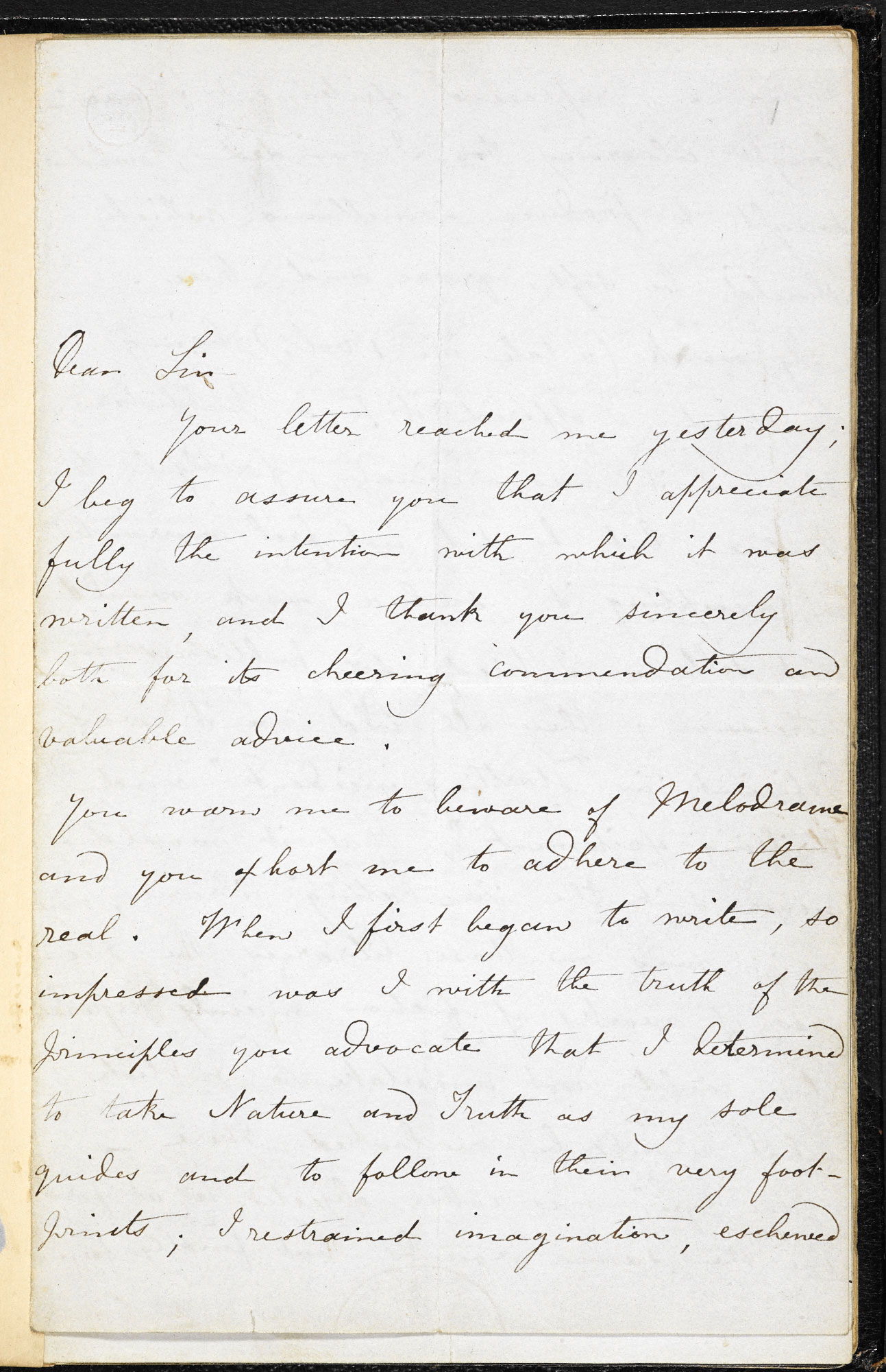Eight letters from Charlotte Brontë to George Henry Lewes, November 1847-October 1850