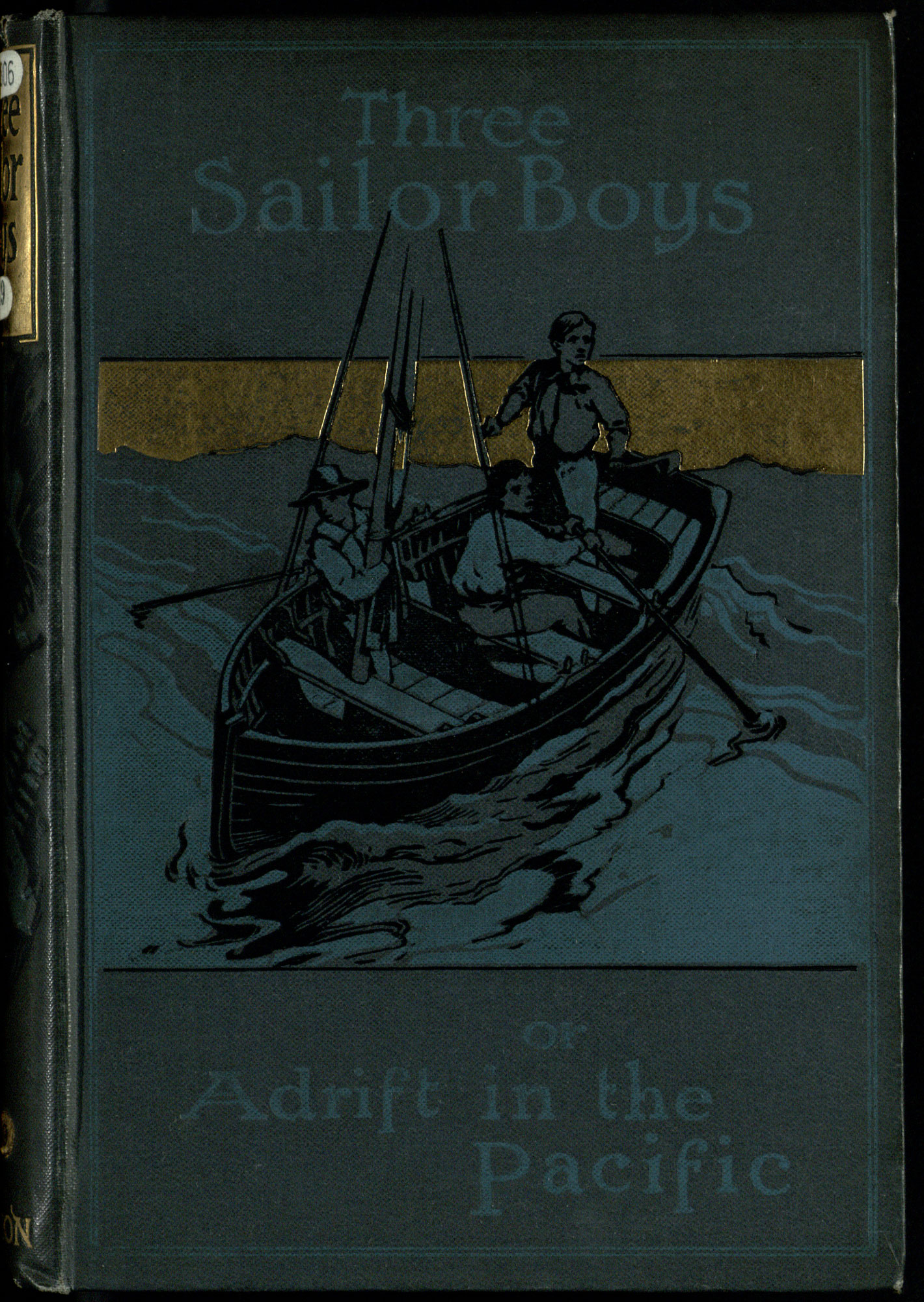 Three Sailor Boys: Children's adventure story