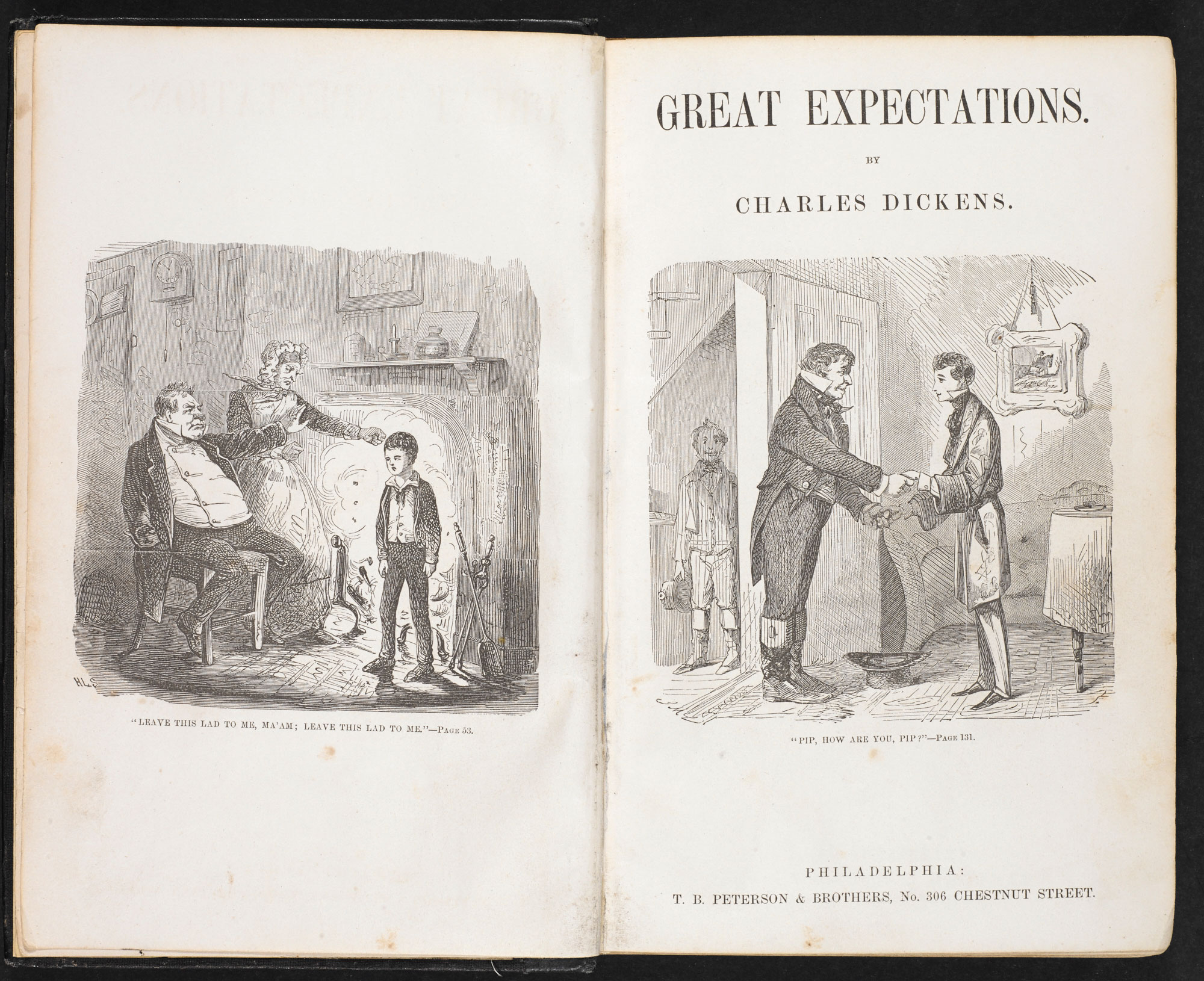 Great Expectations illustrated by John McLenan