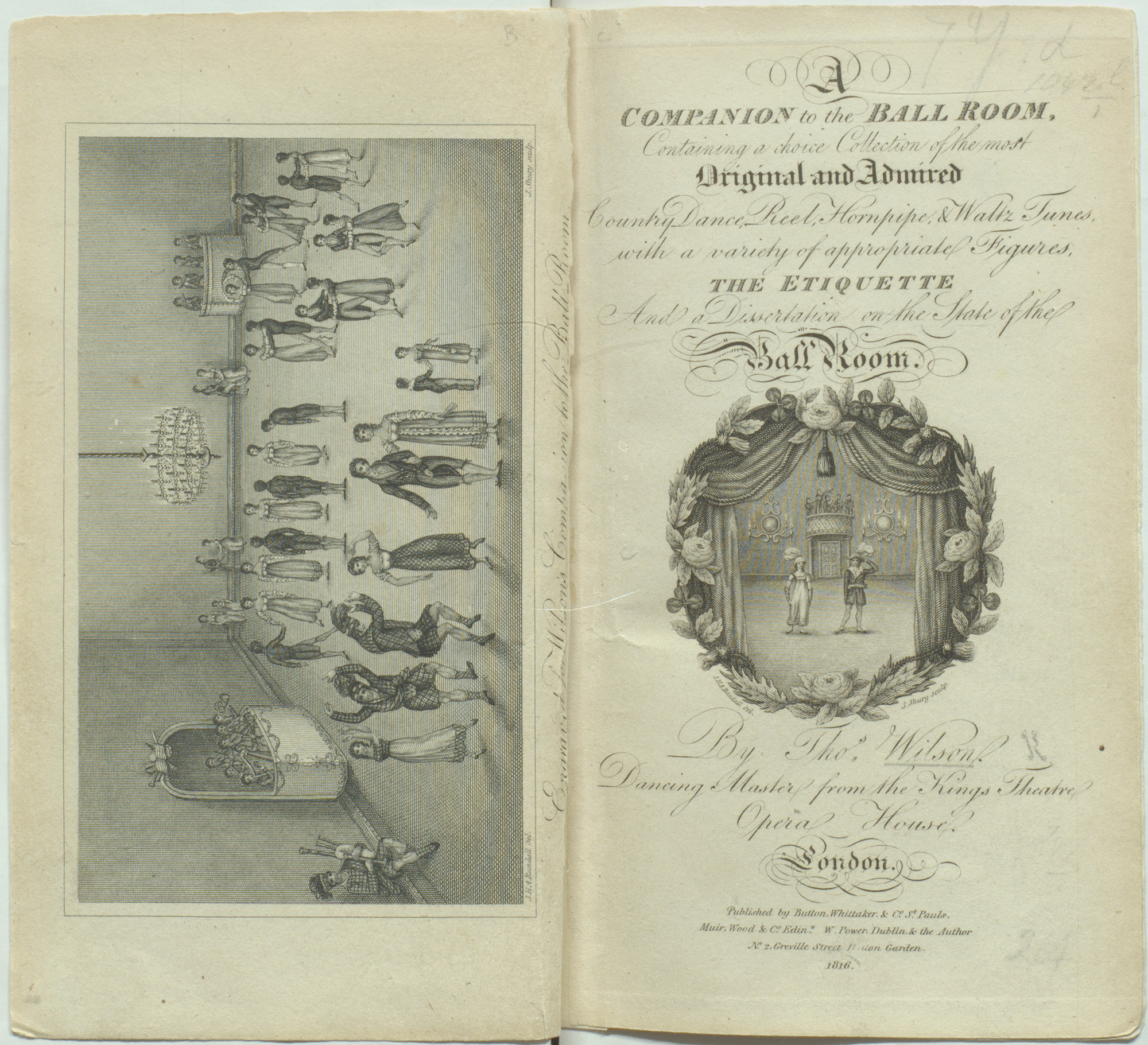A companion to the Ball Room