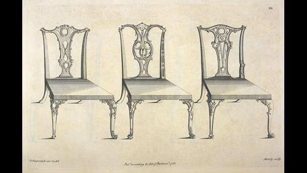 Thomas Chippendale's The Gentleman and Cabinet-Maker's Director