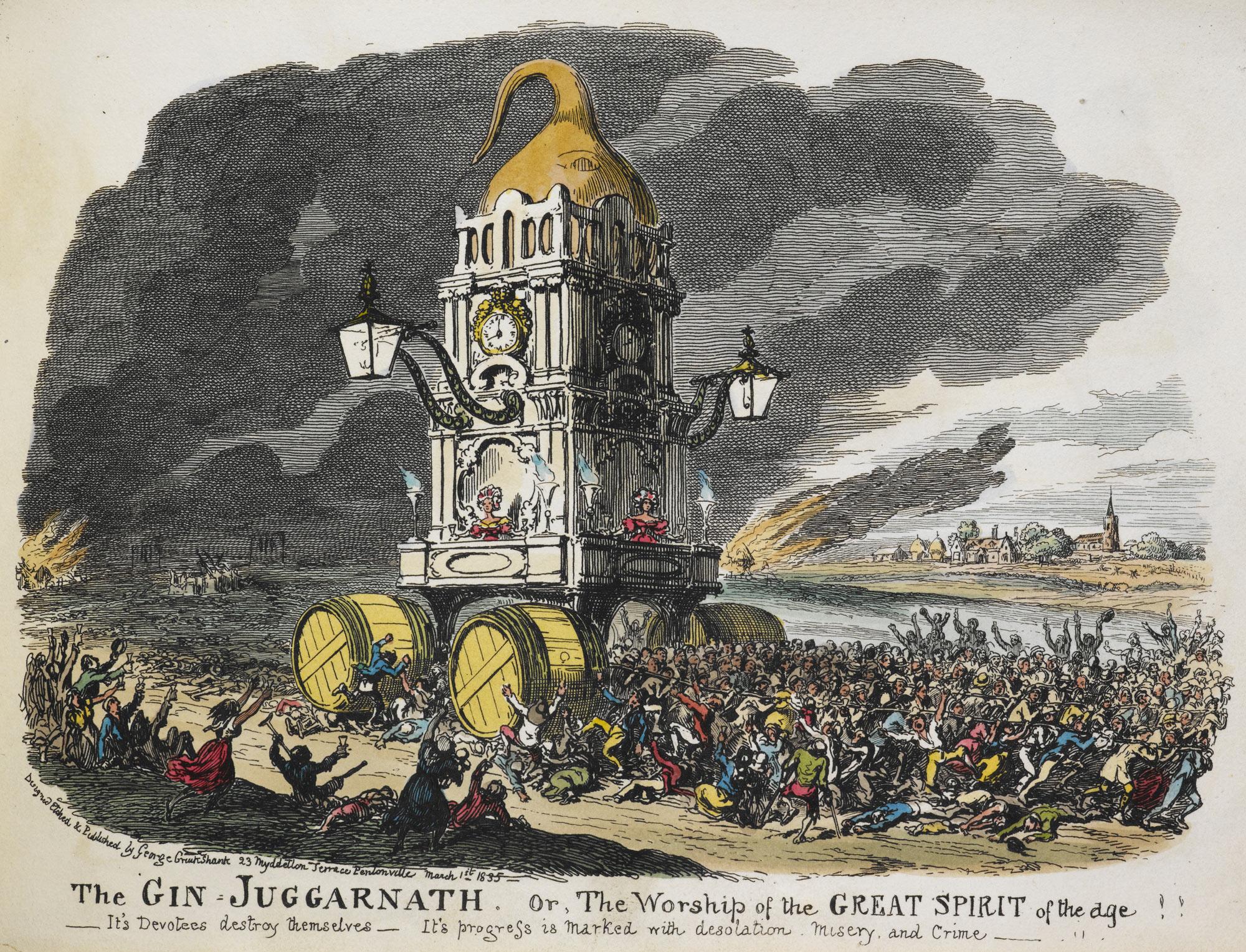 Cruikshank, The Juggernaut