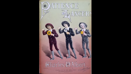 Dance arrangement for Gilbert and Sullivan's opera Patience