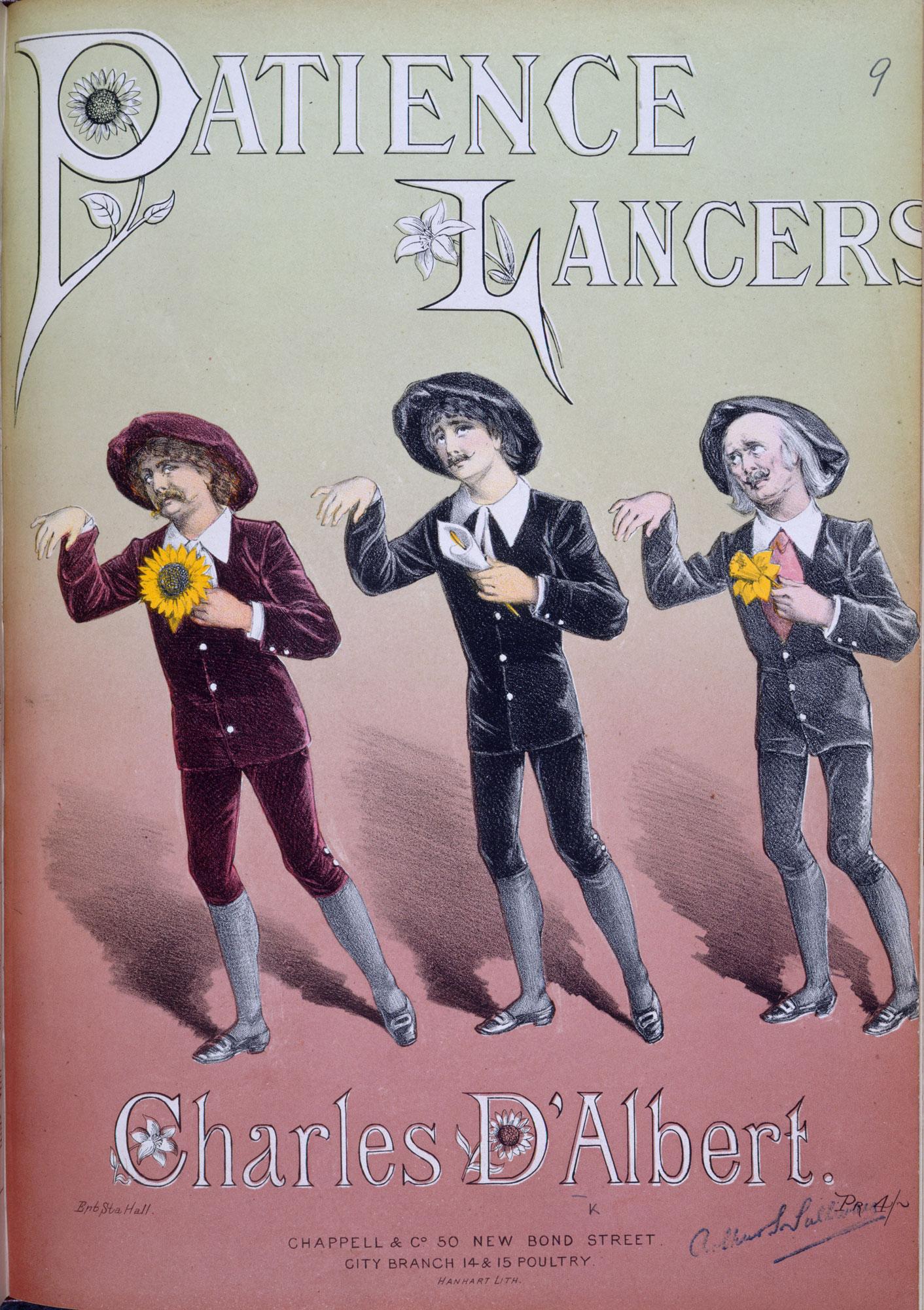 Dance arrangement for Gilbert and Sullivan's opera Patience