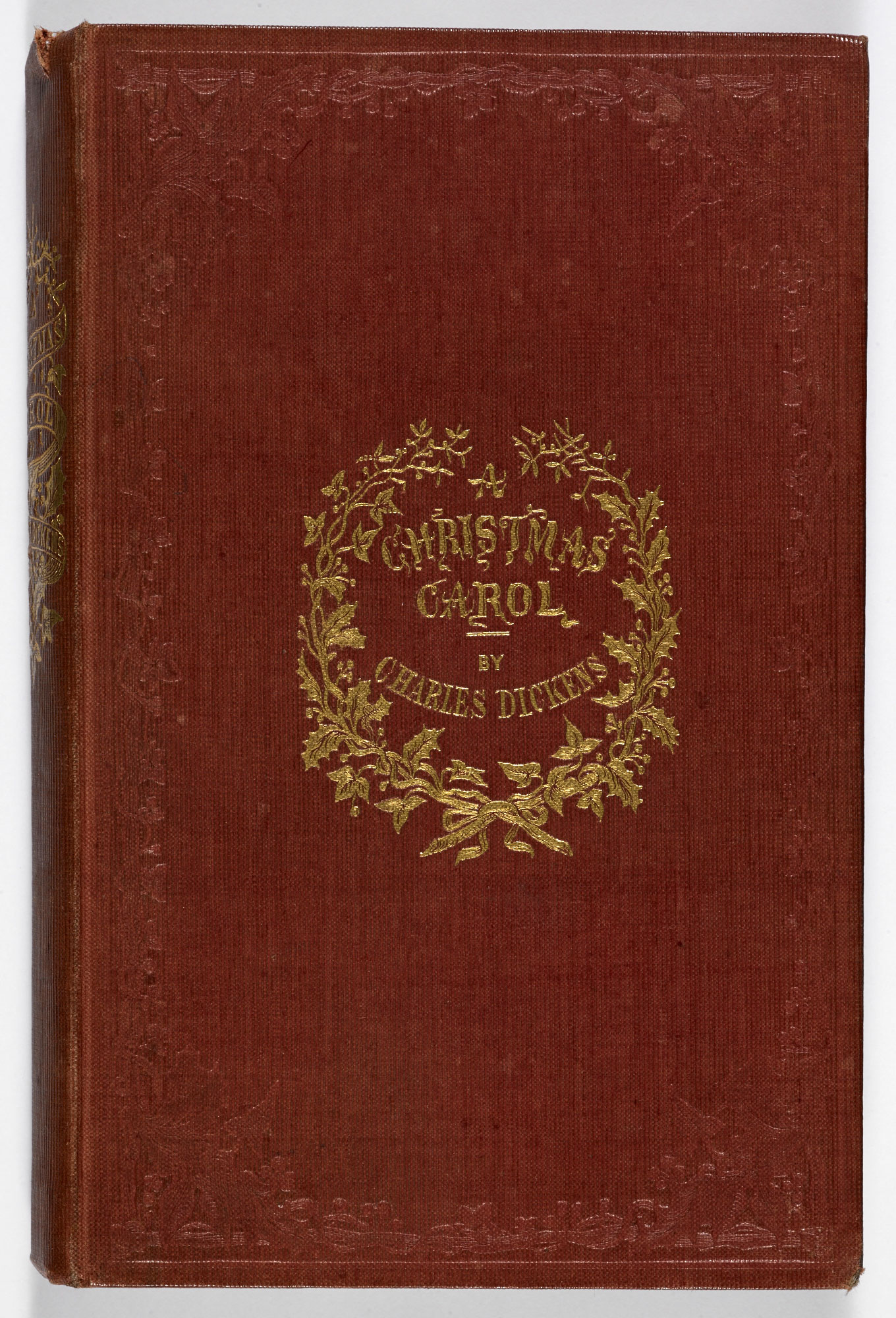 Christmas Book.First Edition Of A Christmas Carol The British Library