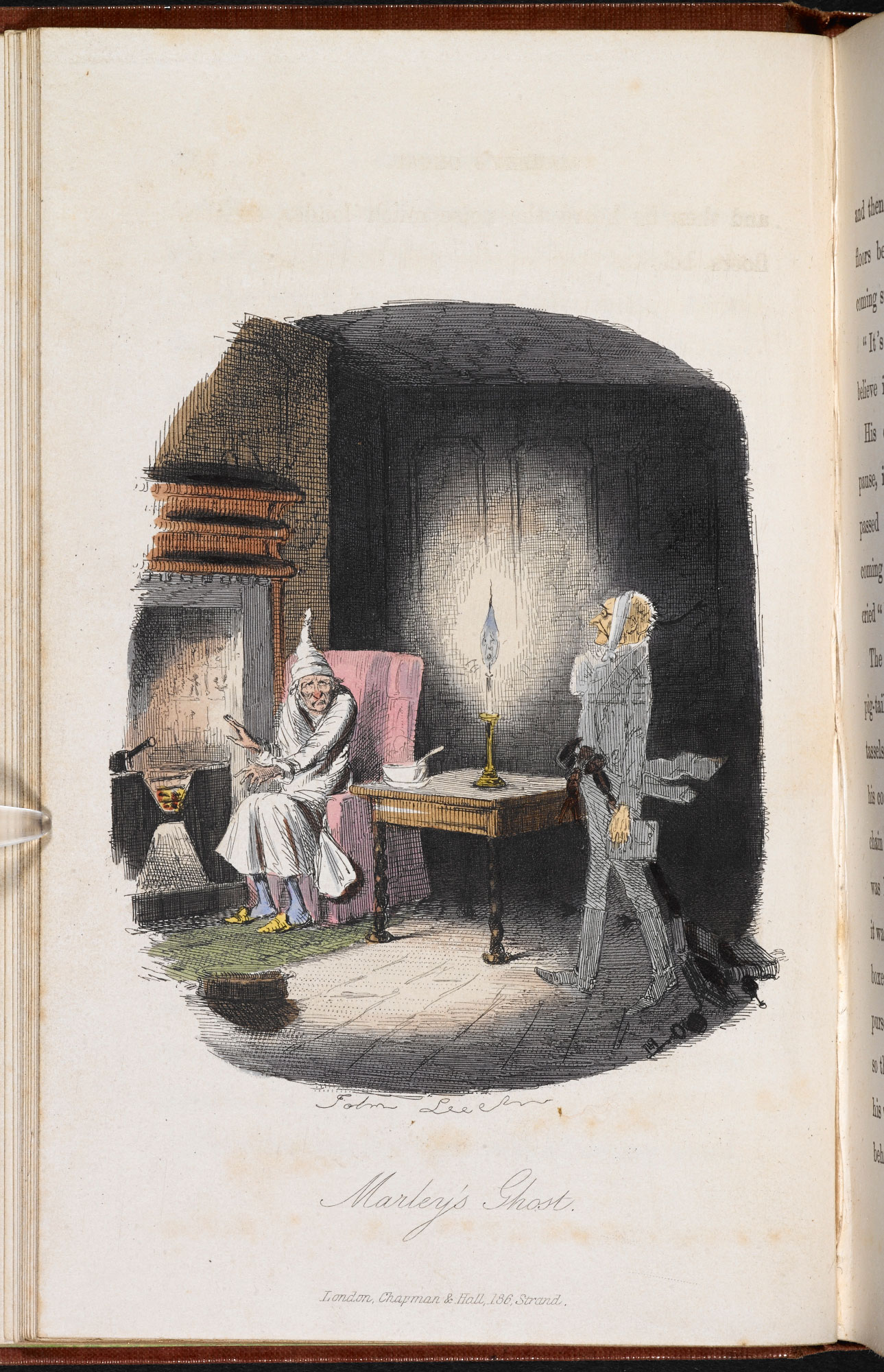 A Christmas Carol Ghosts.Ghosts In A Christmas Carol The British Library