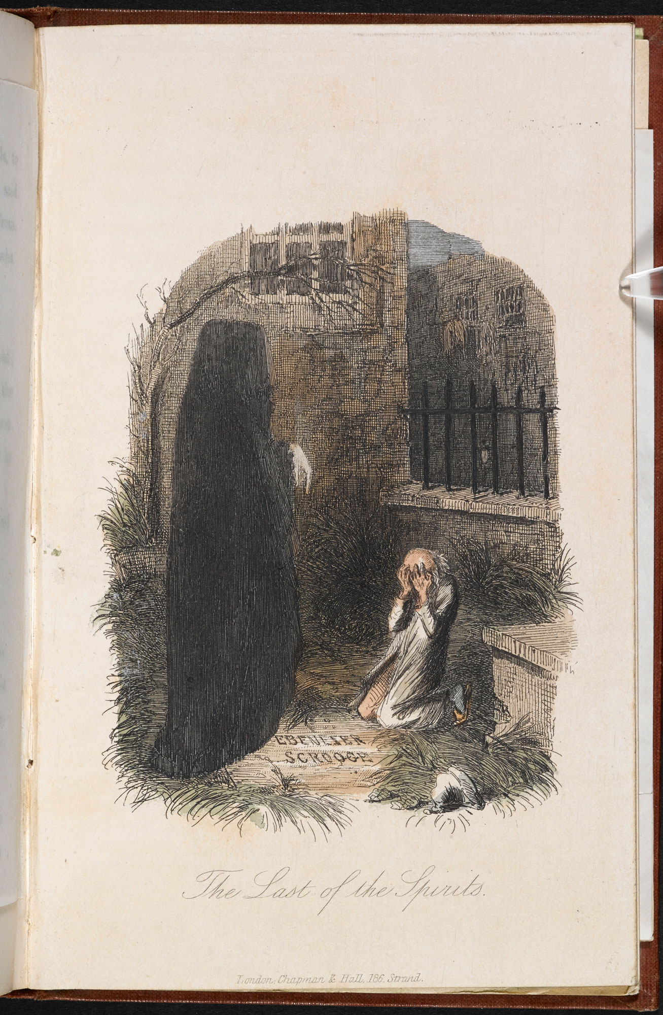 A Christmas Carol Spirits.Ghosts In A Christmas Carol The British Library