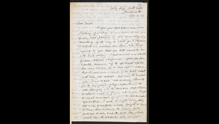 Letter from George Eliot to Francois D'Albert-Durade, 6 December 1859