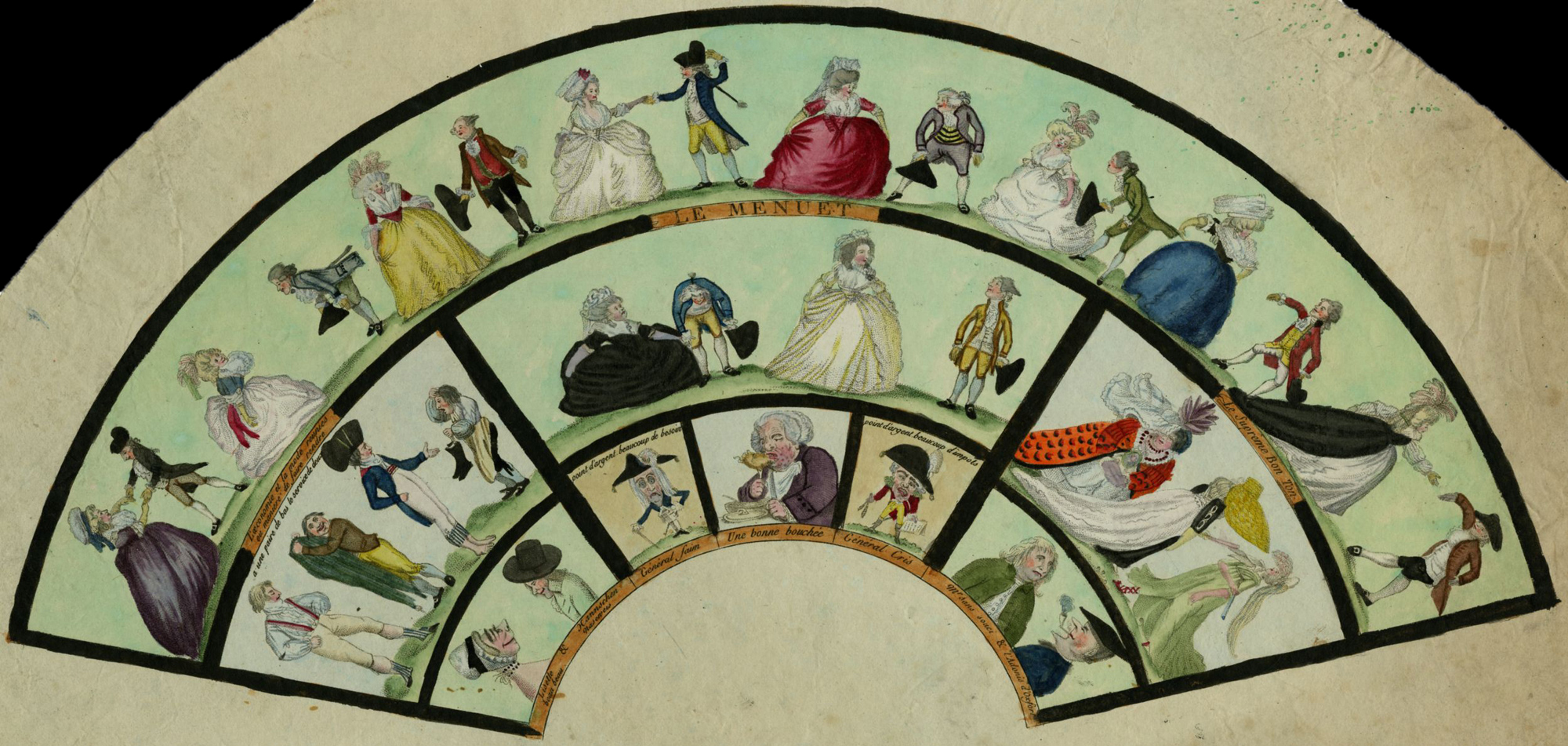 Le Meneut, unmounted leaf fan