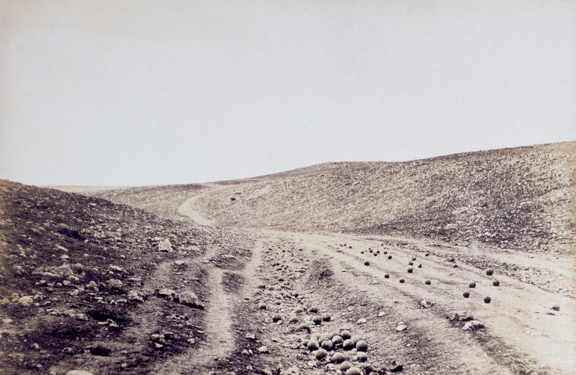 Roger Fenton's photographs from the Crimean War
