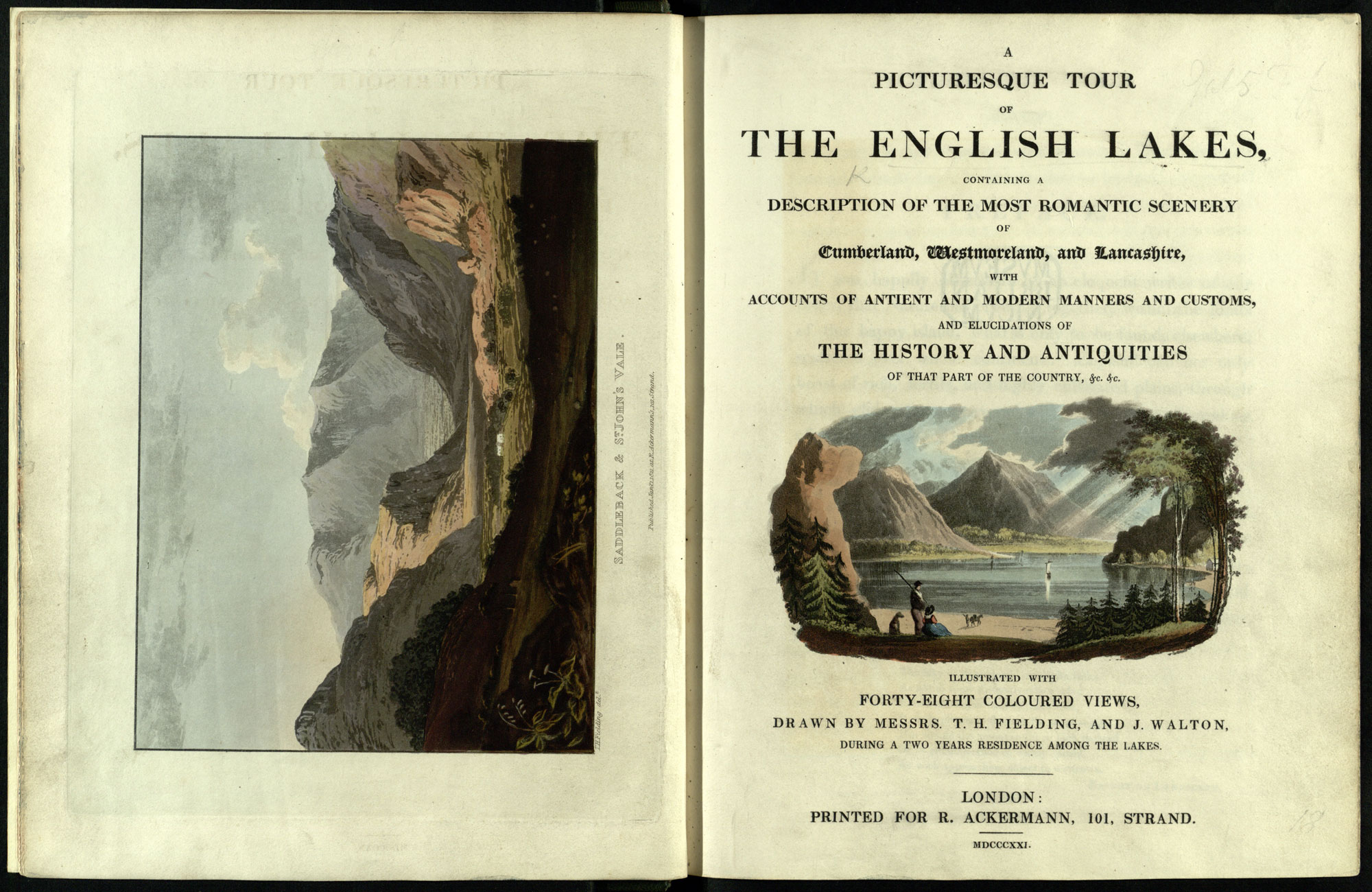A Picturesque Tour of the English Lakes
