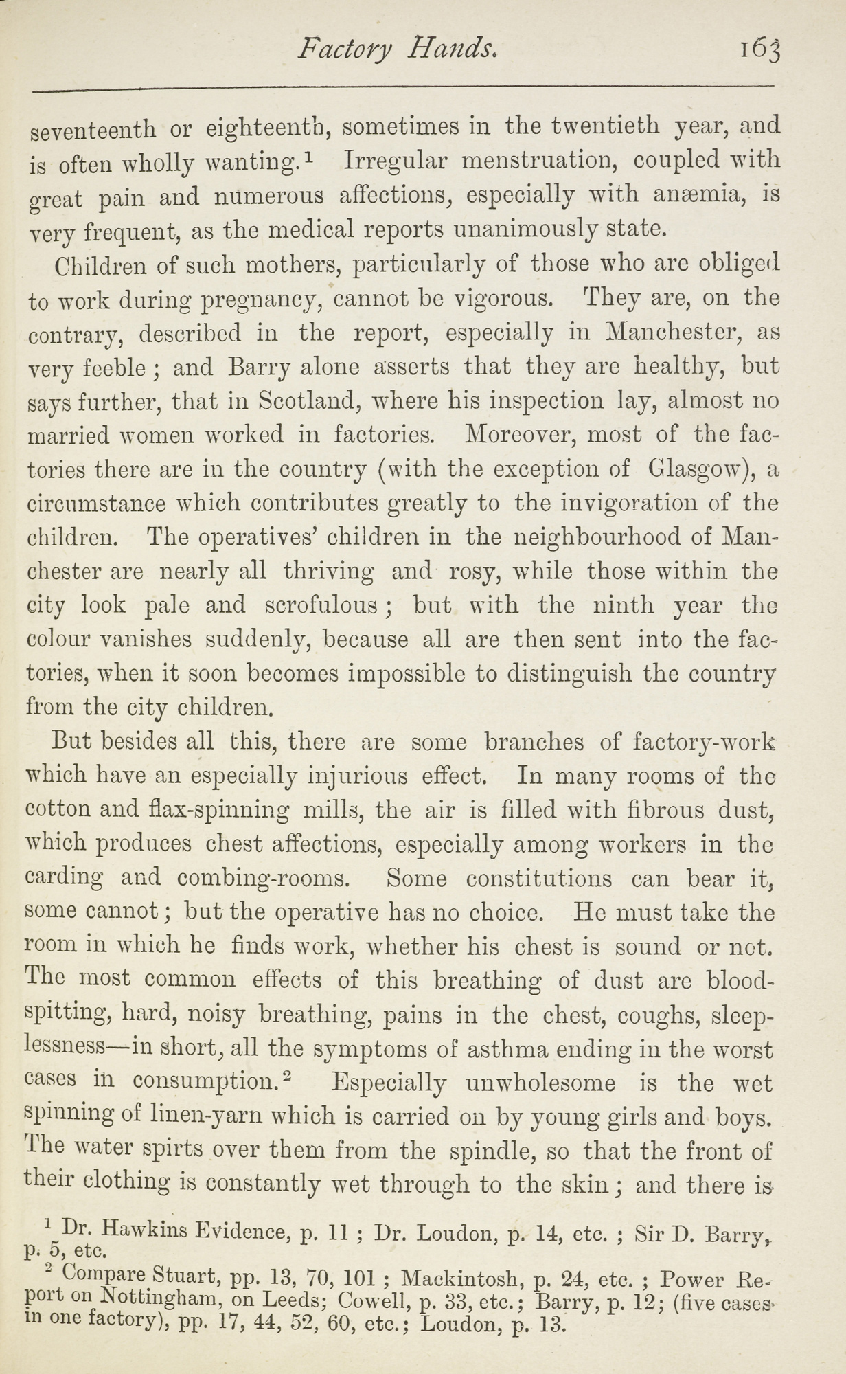 The condition of the working class in England in 1844 by