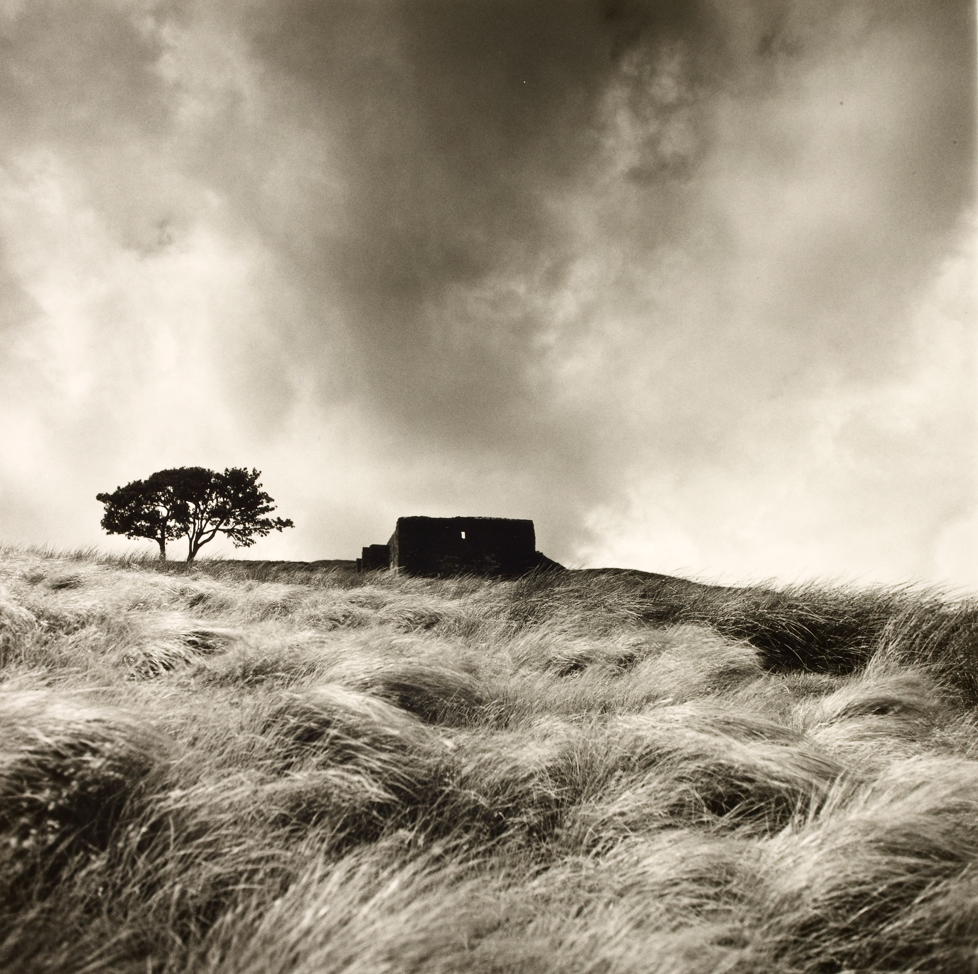 20th century photographs by Fay Godwin of Howarth Parsonage, home of the Brontës, and Top Withens