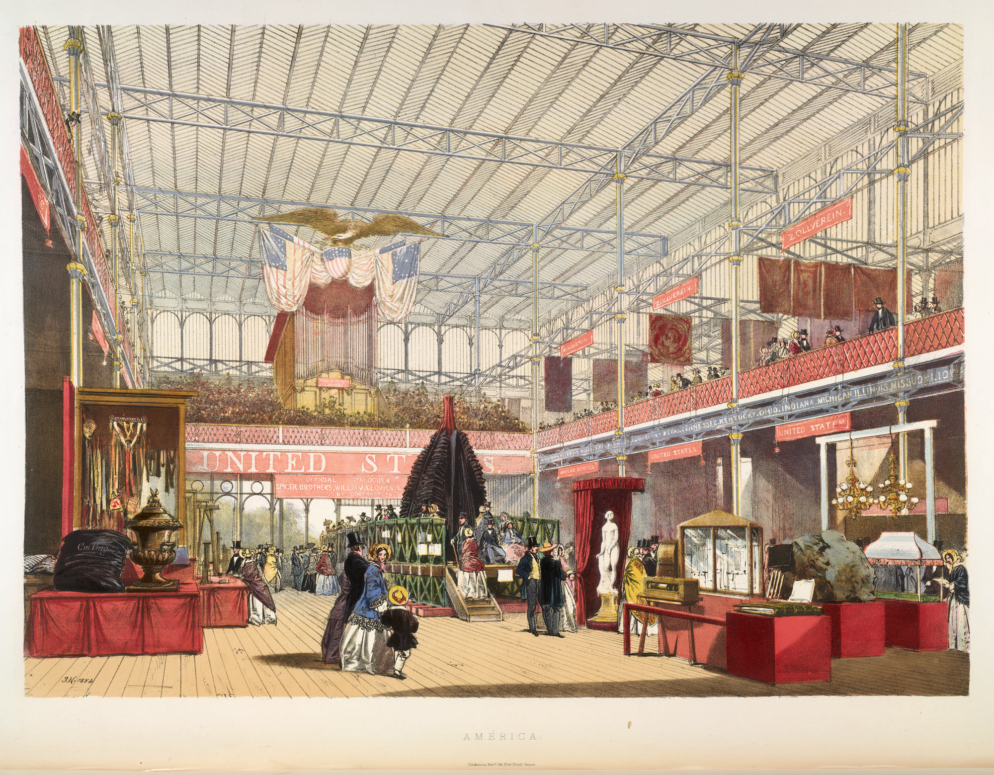 Dickinson's Comprehensive Pictures of the Great Exhibition of 1851