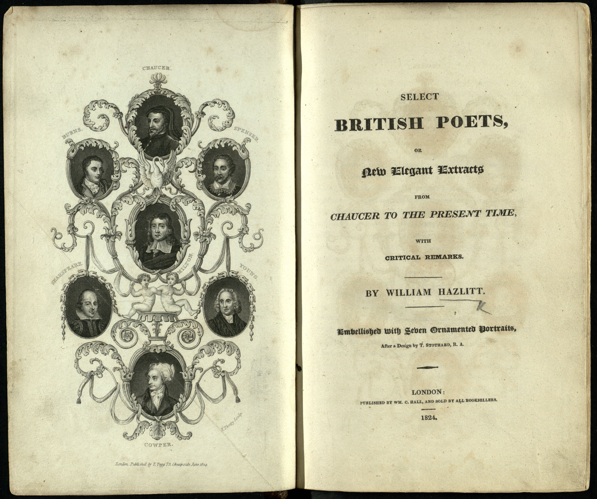 Anthology of British Poets, edited by William Hazlitt
