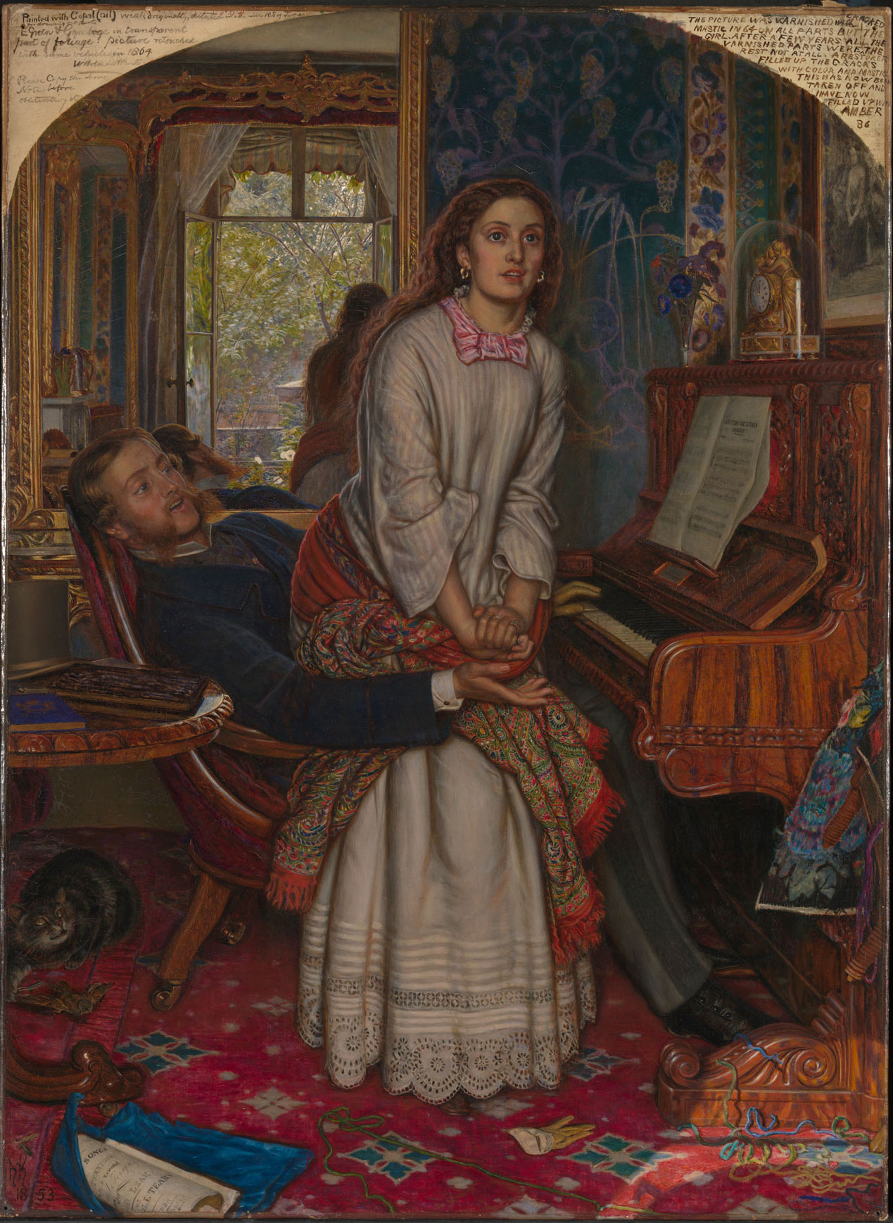 The Awakening Conscience By William Holman Hunt The British Library