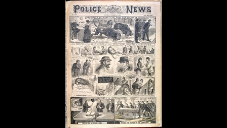 'Incidents relating to the East End murders' from the Illustrated Police News