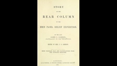 James Jameson's account of the Emin Pasha Relief Expedition