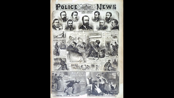 'The London Murder Scare' from the Illustrated Police News