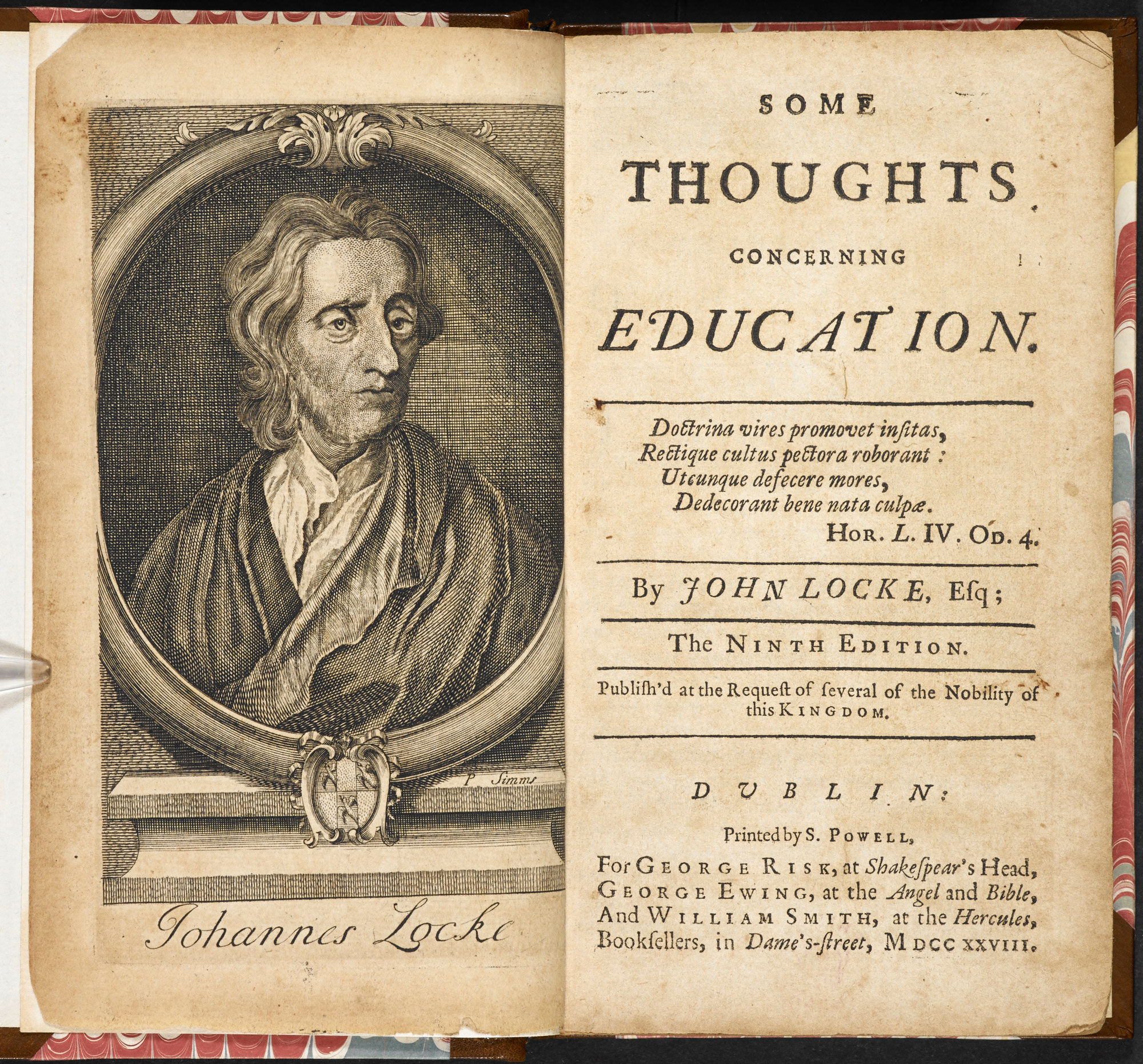 Some Thoughts Concerning Education by John Locke The British Library