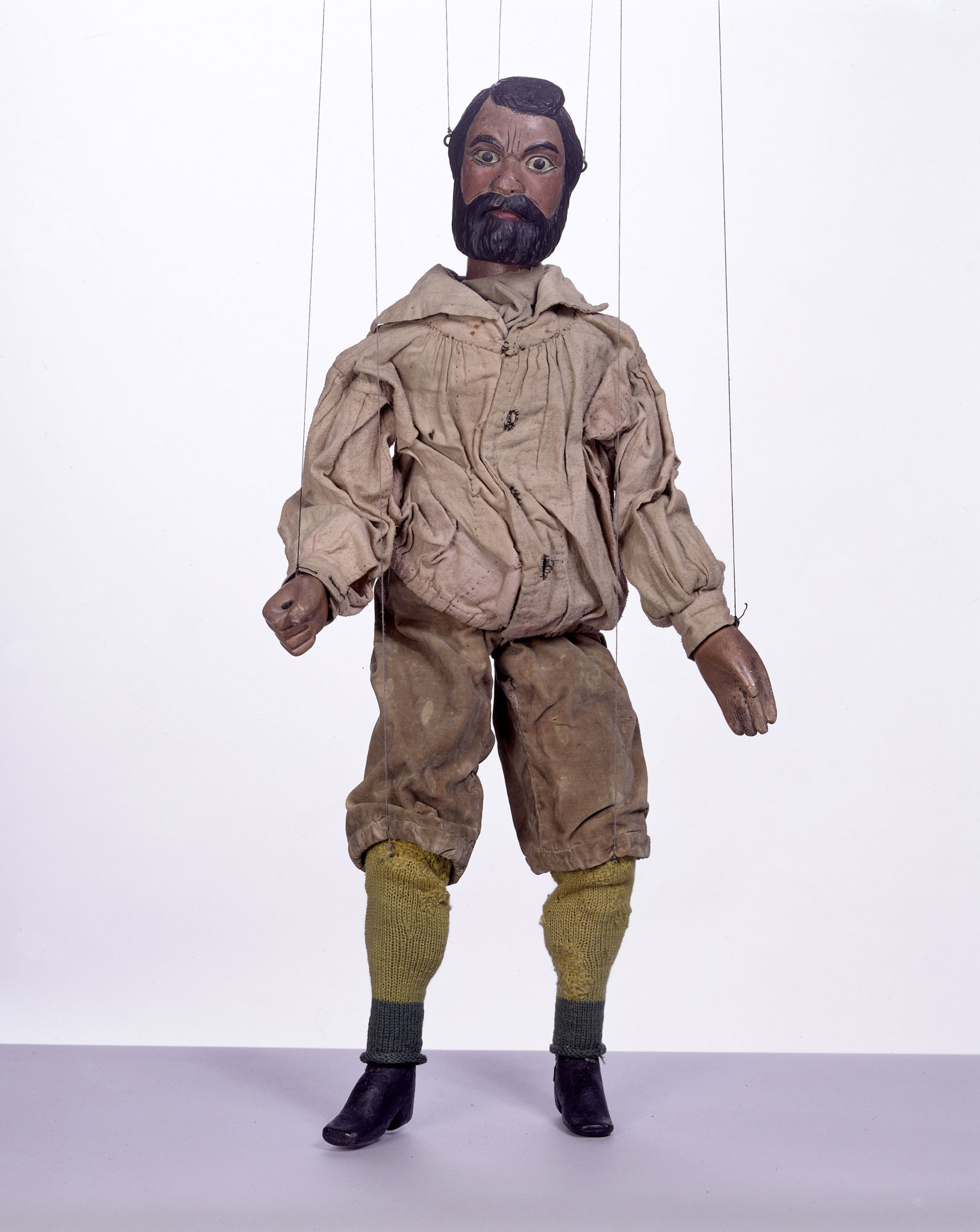 Victorian marionette from the Tiller-Clowes troupe