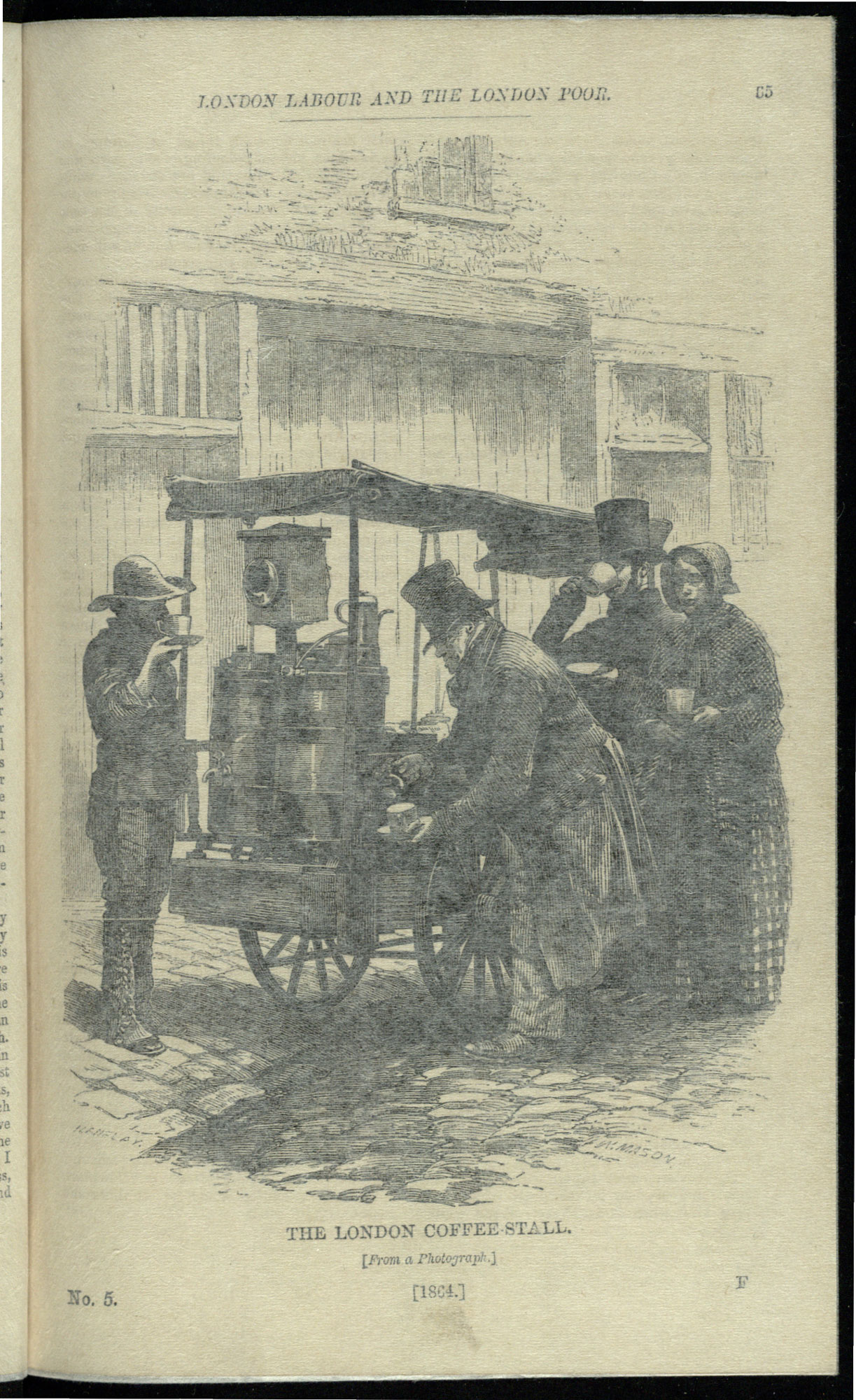 1865 edition of London Labour and the London Poor by Henry Mayhew