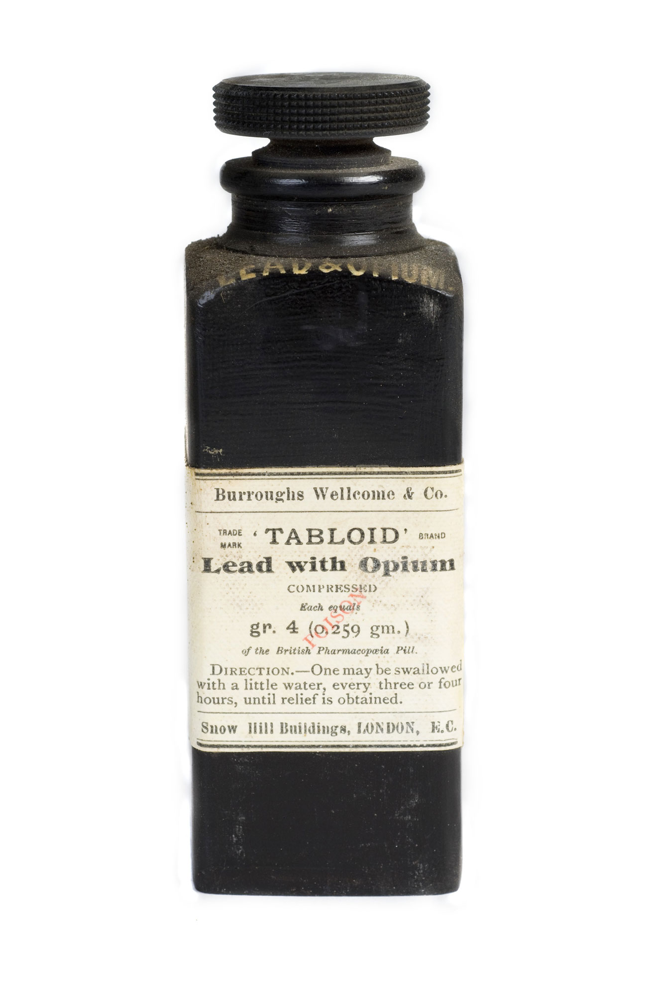 Bottle of 'Lead with Opium'