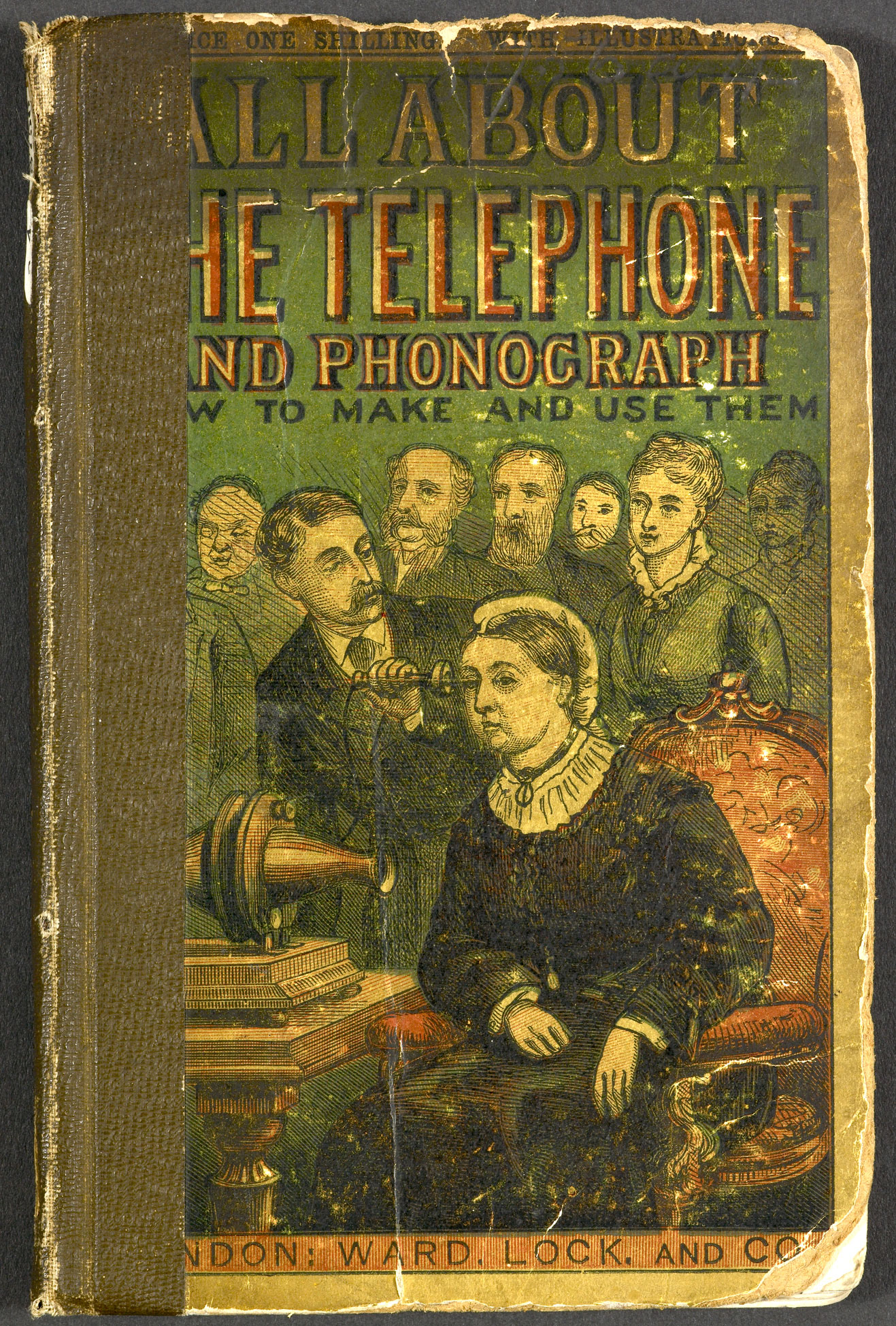 All about the Telephone and Phonograph