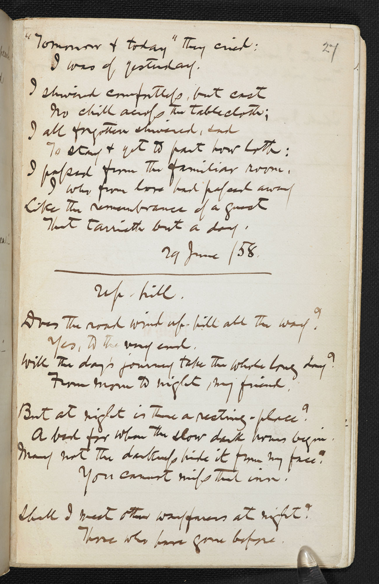 Christina Rossetti: religious poetry - The British Library