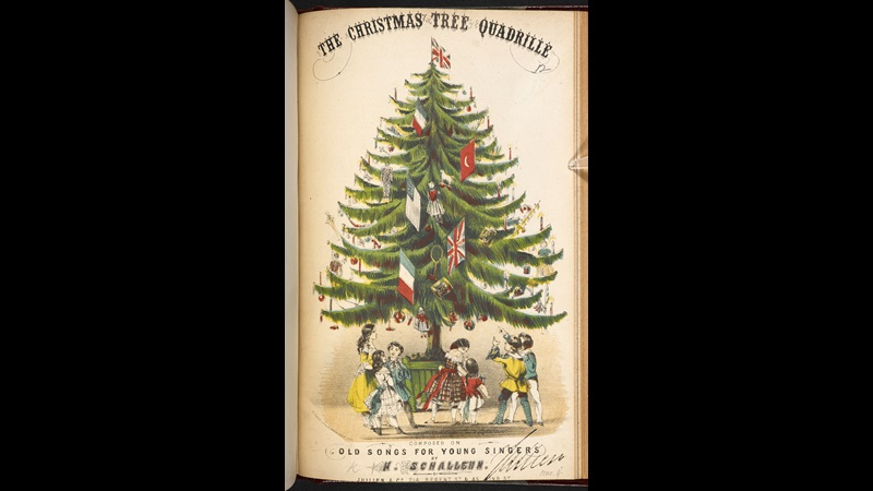 The Christmas tree quadrille