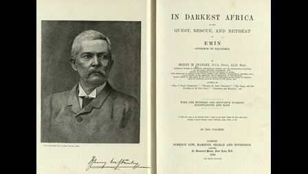 In Darkest Africa by explorer Henry M Stanley