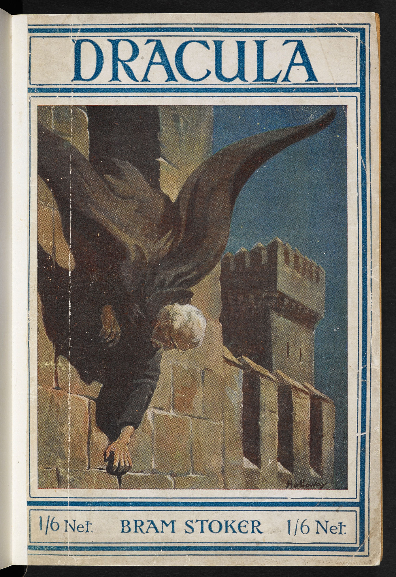 Front cover for 1919 edition of Dracula