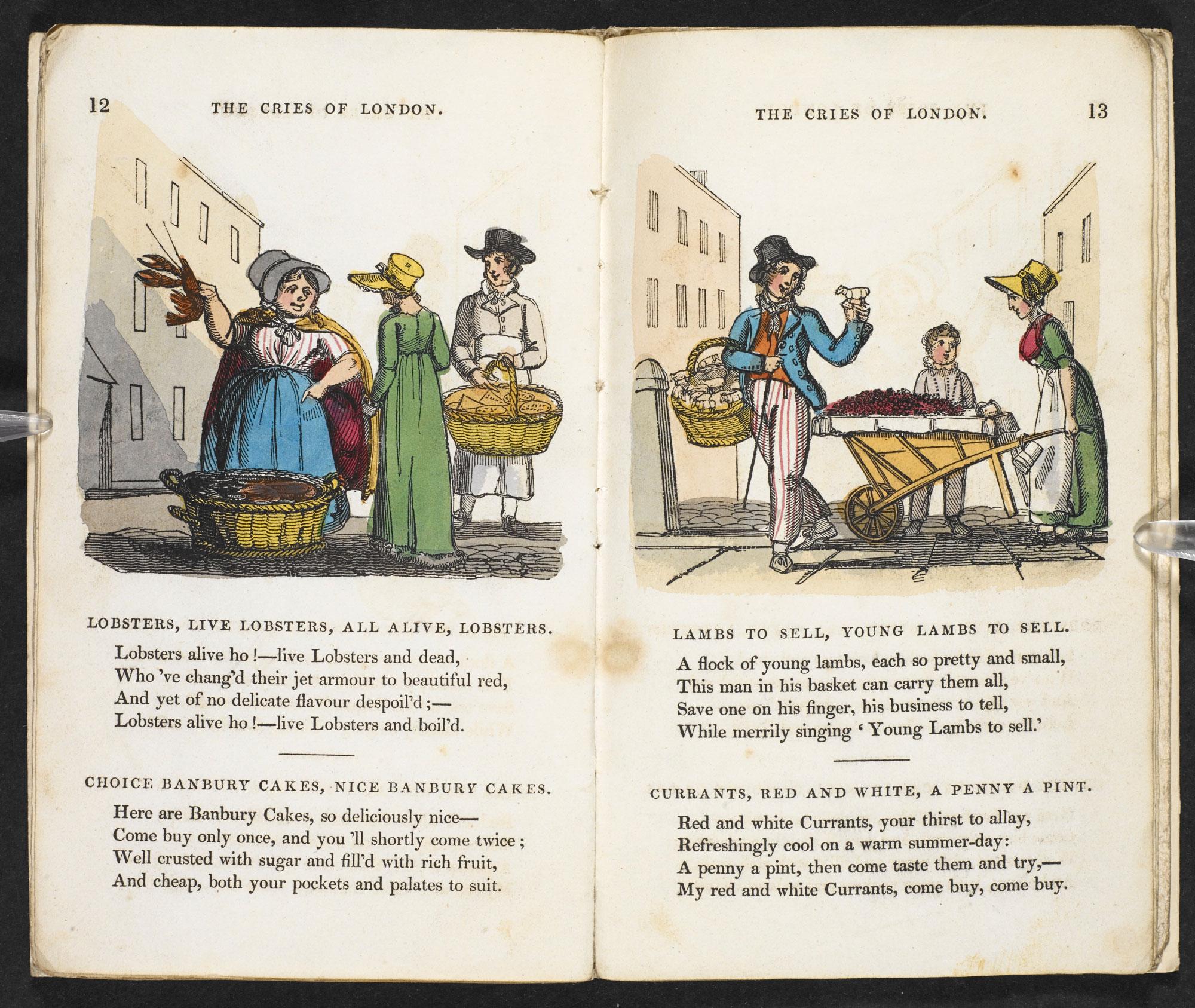 Childrens Book Sam Syntaxs Description Of The Cries London 1821 Usage Terms Public Domain