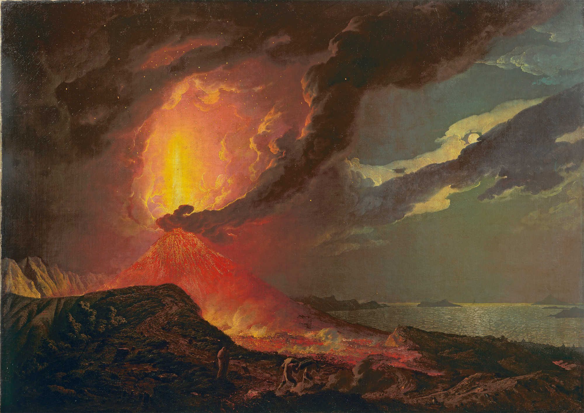 Vesuvius in Eruption