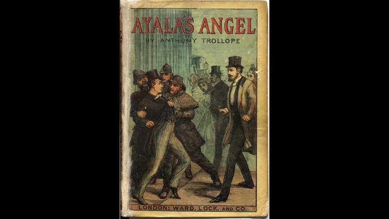 Front cover to Ayala's Angel by Trollope