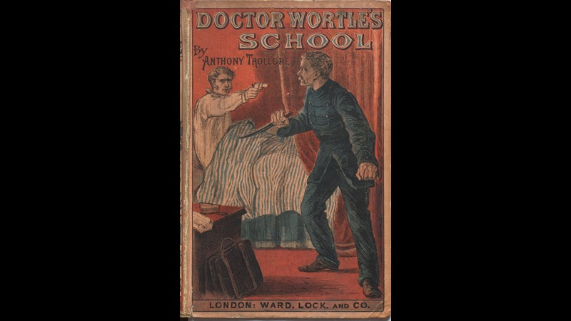 Front cover to Dr. Wortle's School by Trollope
